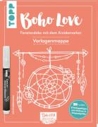 Kreidemarker Boho Love Vorlagenmappe