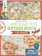 TOPP Landkartenrätselbuch Kinder