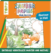TOPP Zauberpapier Malbuch Wald