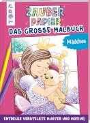 TOPP Zauberpap.Gr.Malbuch Mädchen