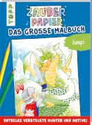 TOPP Zauberpap.Gr.Malbuch Jungs