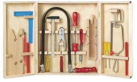 PEBARO Laubsägeschrank inklusive Werkzeug