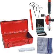 Kids at Work Werkzeug Set Metall Box 02 - Zum Messen und Bohren