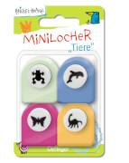 Krickel-Krakel Mini-Locher ''Tiere''
