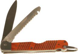 CORVUS Kids at Work - Taschenmesser inkl. Säge, ca. 12 cm, ab 14 Jahre
