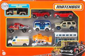 Mattel X7111 Matchbox 9er-Pack, sortiert