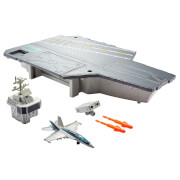 Mattel GNN28 Matchbox Top Gun Flugzeugträger Spielset