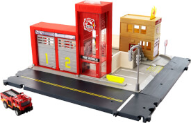 Mattel HBD76 Matchbox Fire Station