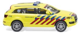 Notarzt Niederlande - Audi Q7