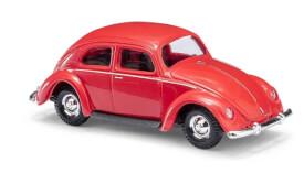 VW Käfer Brezelfenster rot