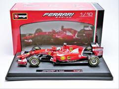 BBURAGO HK - BB 1:18 Ferrari Racing SF-15T ( 5 S. Vettel)