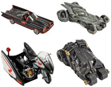 Mattel DKL20 Hot Wheels Premium 1:50th Batman, sortiert