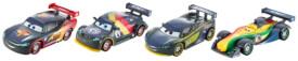 Mattel Cars Carsrbon Racers Die-Carsst 4er-Pack