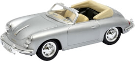 Welly Porsche 356B silber 1:24
