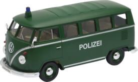 Welly Volkswagen T1 Bus Polizei 1:24