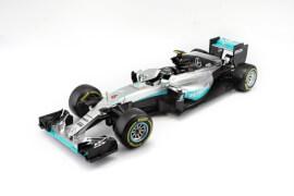 BBURAGO HK   BB 1:43 F1 Mercedes AMG Petronas W07 ( 6 N. Rosberg)