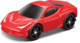 BBURAGO HK -Ferrari R&P Pocket Garage Car mit Launcher (Display)