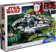 Mattel Hot Wheels Star Wars Episode 8 Millenium Falcon Spielset