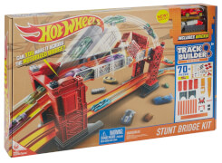 Mattel Hot Wheels Track Builder Bridge Stunt Kit