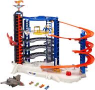 Mattel Hot Wheels Super Megacity Parkgarage