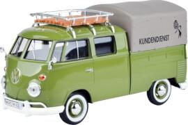 MM79554 VW T1 ''VW Kundendienst'' mit Dachträger, grün