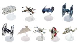 Mattel Hot Wheels FJD59  Star Wars Starships sortiert