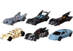 Mattel Hot Wheels FKF36  DC Batman sortiert