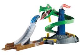 Mattel Hot Wheels City Kobra-Angriff Set