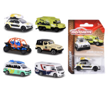 Majorette Explorer Assortment, 6-fach sortiert
