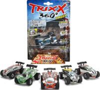 Dickie Trixx 360 - 1 Action-Auto inkl. Straight-Ramp, Kunststoff, ab 3 Jahre, sortiert