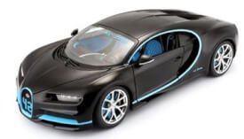 Bburago 1:18 Bugatti Chiron 42 Sekunden Weltrekord