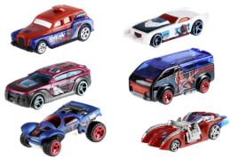 Mattel FKF66 Hot Wheels Spiderman Movie sortiert
