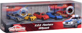 Majorette S.O.S Flashers 5 Pieces Giftpack