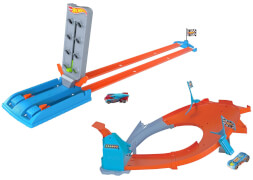Mattel GBF81 Hot Wheels Championship Trackset sortiert