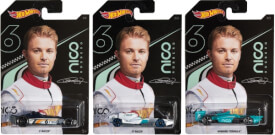 Mattel GGC34 Hot Wheels Designed by Nico Rosberg sortiert