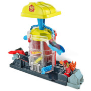Mattel GJL06 Hot Wheels City Super Fire House Rescue