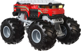 Mattel GBV34 Hot Wheels Monster Trucks 1:24 Die-Cast 5 Alarm