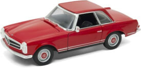 Welly Mercedes 230 SL, rot  1:24