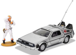 Hornby DeLorean mit Doc Brown Figur 1:36