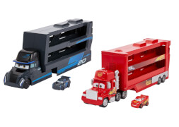 Mattel GNW33 Disney Pixar Cars Mini Racer Transporter Sortiment (je inkl. 1 Mini Racer)