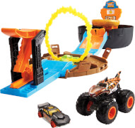Mattel GVK48 Hot Wheels Monster Trucks Stunt Tire Spielset