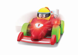 BBJunior  Push&Glow ''Formula Fun'' 21,4cm, red