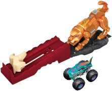 Mattel GYL09 Hot Wheels Monster Trucks Spielset, sortiert