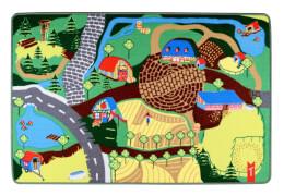 TEP12 Teppino Spielteppich ''Mein Bauernhof''