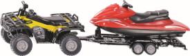 SIKU 2314 Quad mit Anhänger und Jet-Ski 1:50
