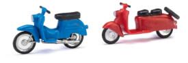 Schwalbe Bausätze rot/blau