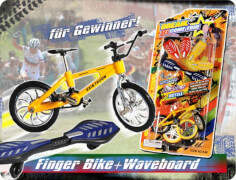 592482 Mini Fingerbike mit Waveboard