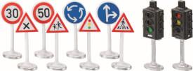 SIKU 5597 WORLD - Ampeln mit Verkehrsschildern, ab 3 Jahre