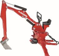 SIKU 2066 FARMER - Moser Heckbagger für Traktoren, 1:32, ab 3 Jahre