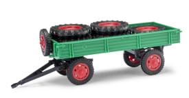 Anhänger T4 mit Ladung grün